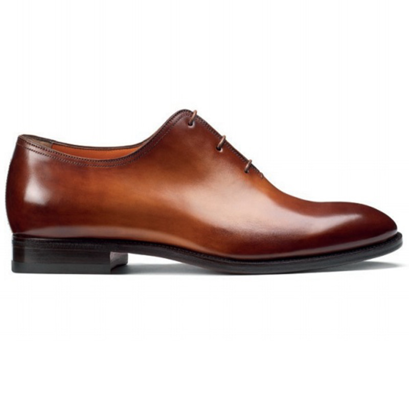 Santoni Lawrence 2152 SL5 Oxfords Tan Image