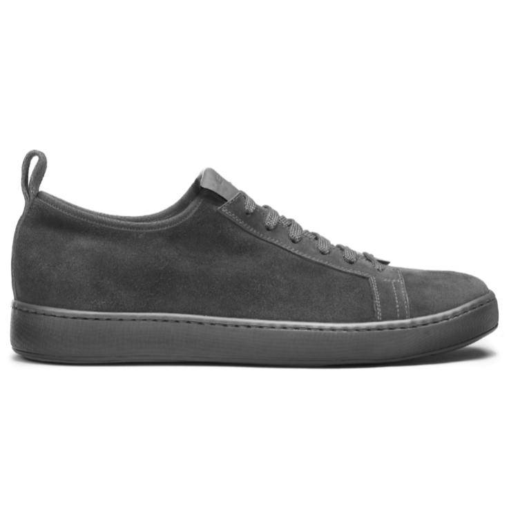 Santoni Mantis Suede Sneakers Gray Image