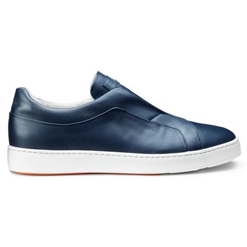 Santoni Pass Sneakers Blue Image