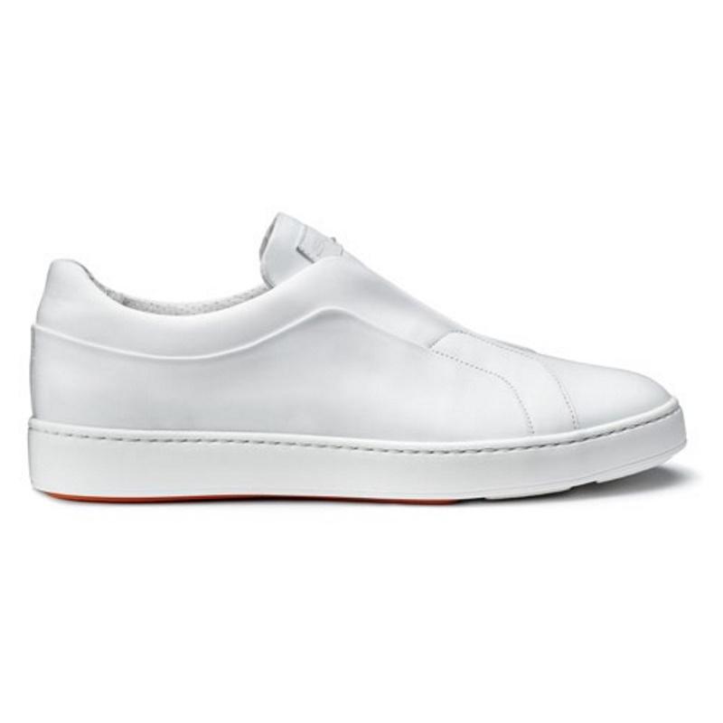 Santoni Pass Sneakers White Image