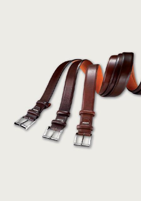 Santoni Calfskin Belts Various Colors OE001 ...