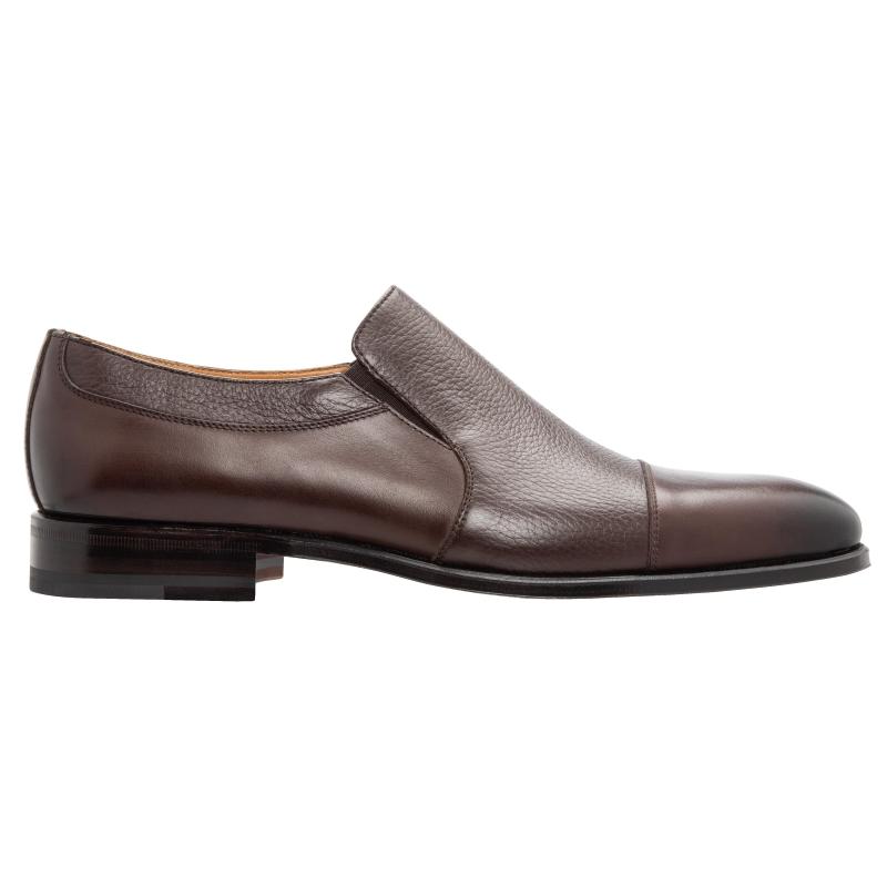Stemar Asti Deerskin & Calfskin Loafers Brown Image