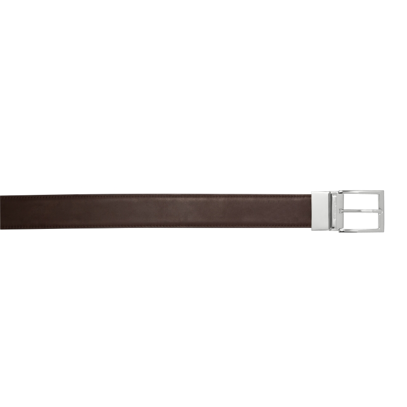 Stemar Bolzano Calfskin Reversible Belt (Black & Brown) Image