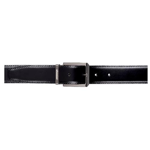 Stemar Milano Calfskin Belt Black Image