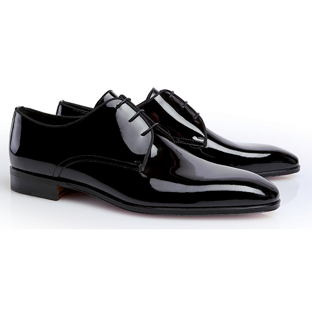 Stemar Scala Patent Leather Shoes Black Image