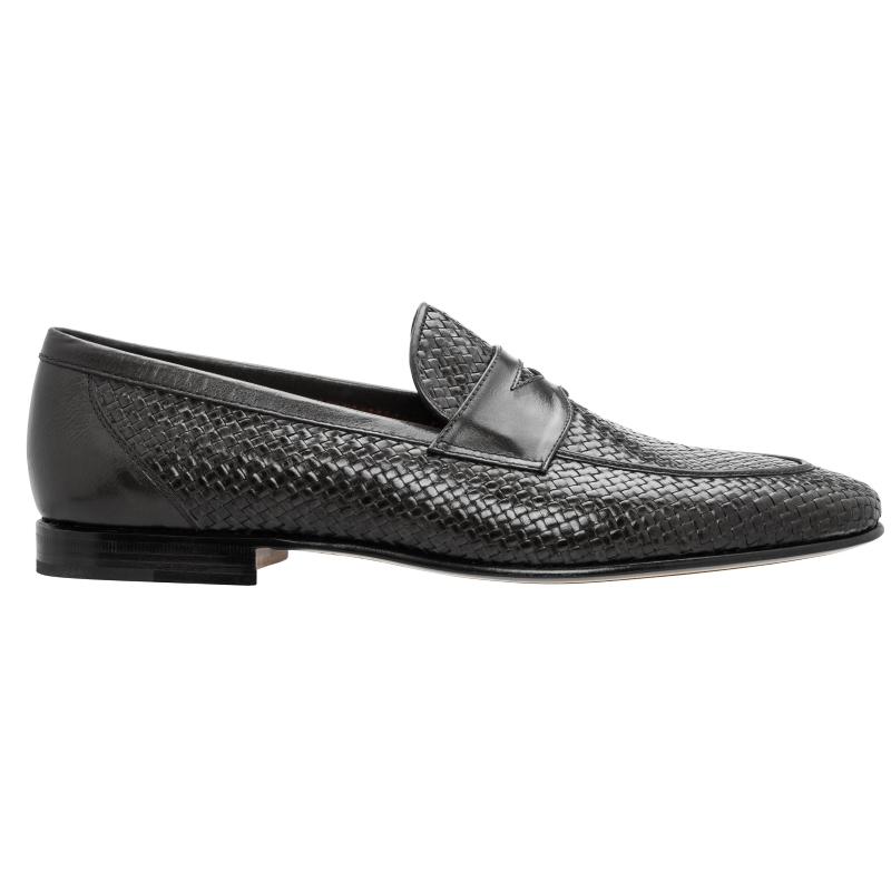Stemar Viareggio Woven Loafers Black Image