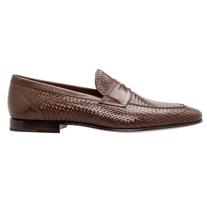 Stemar Viareggio Woven Loafers Brown Image