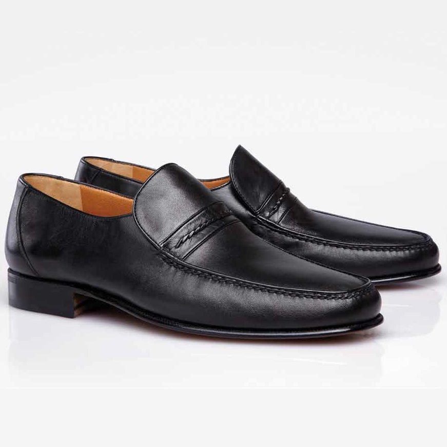 Stemar Nappa Leather Loafers WIDE Image