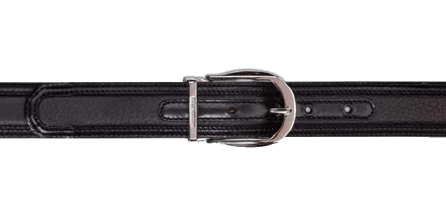 Stemar Novara Deerskin Belt Black Image