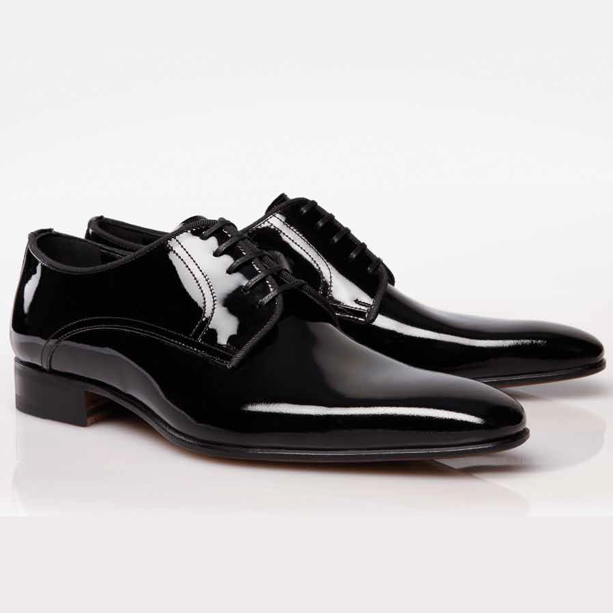 stemar opera patent leather formal shoes