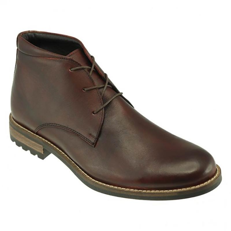 TB Phelps Acadia Deerskin Boots Chestnut Image