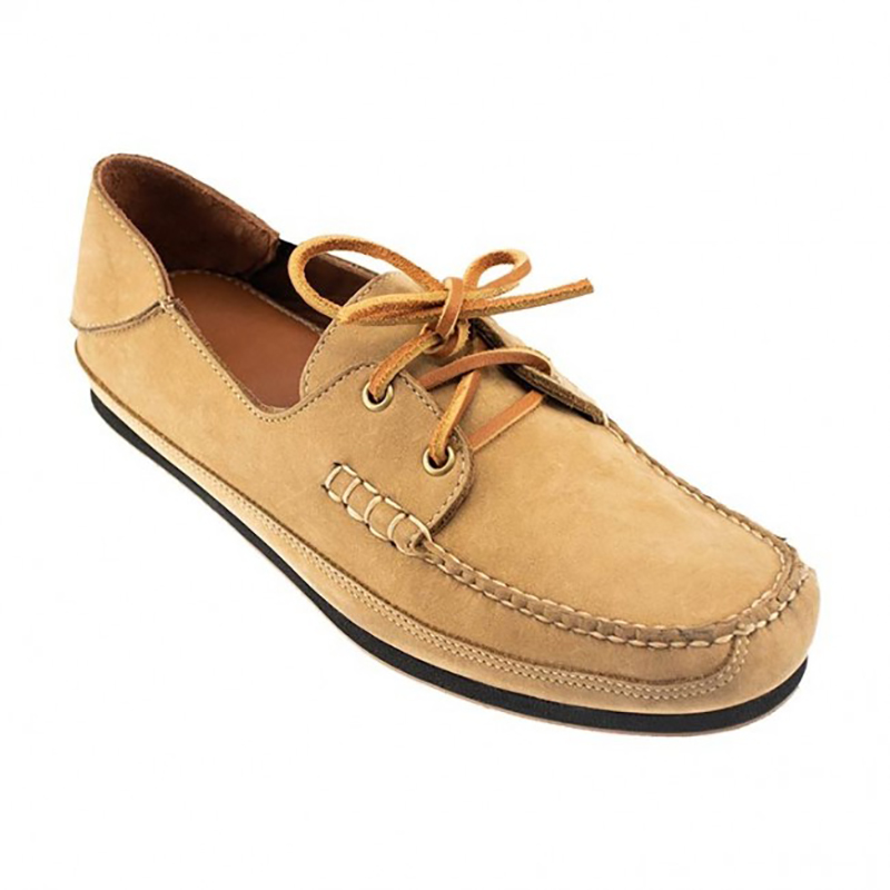 TB Phelps Alex Nubuck Boat Shoes Beach Sand Image