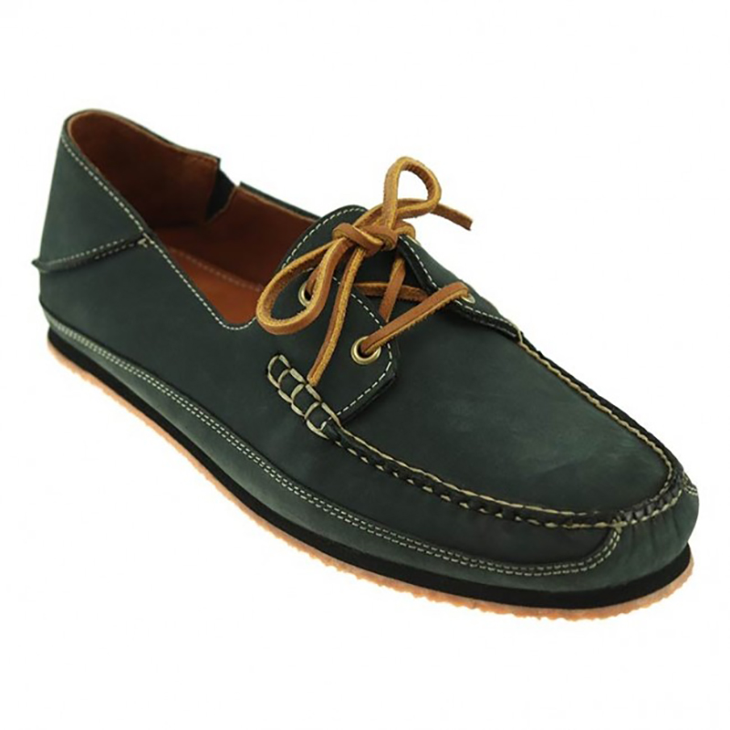 TB Phelps Alex Nubuck Boat Shoes Navy Image