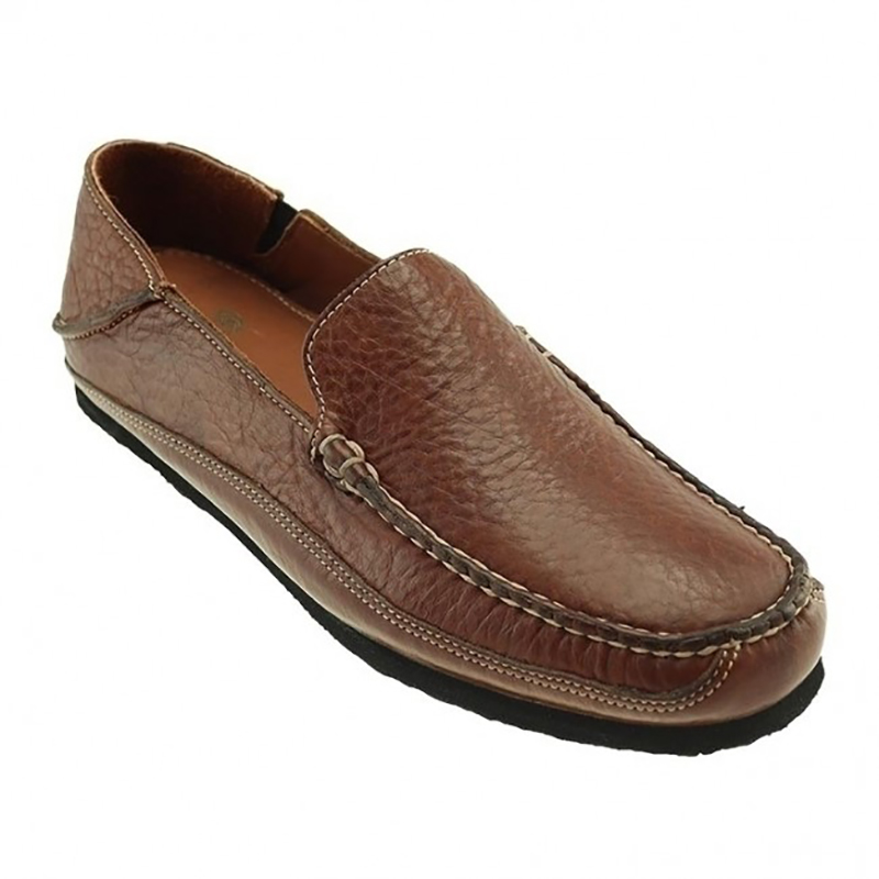 TB Phelps Ashby Bison Slip-on Shoes Walnut Image