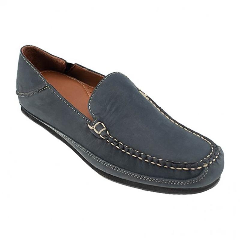 TB Phelps Ashby Nubuck Slip-On Shoes Flag Navy Image