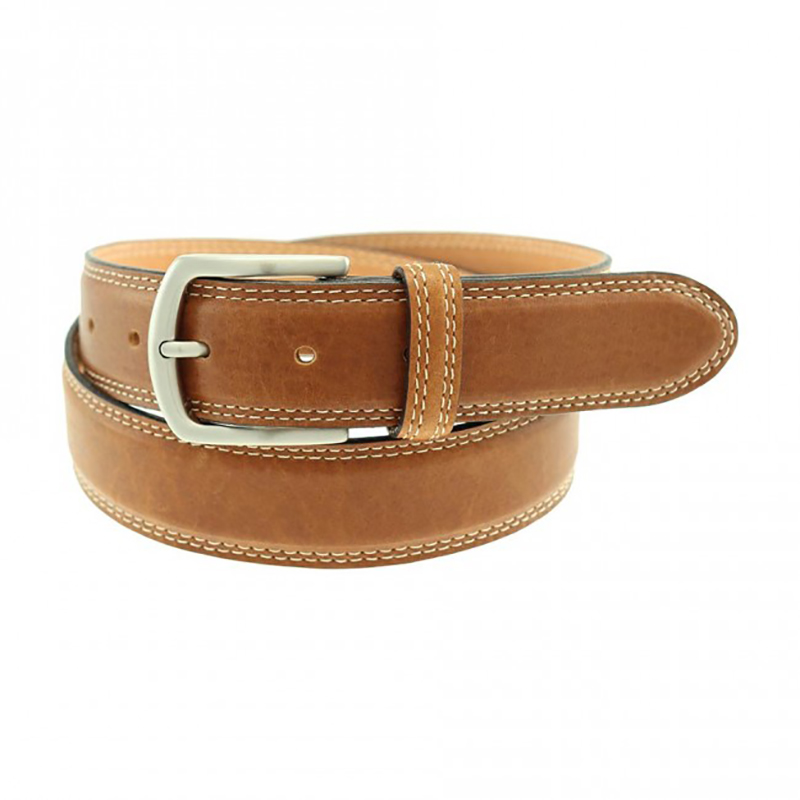 TB Phelps Raleigh Bison Belt Trapper Tan Image