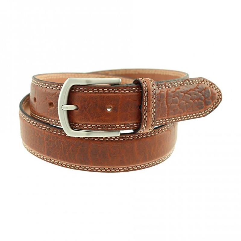 TB Phelps Raleigh Bison Belt Walnut Image