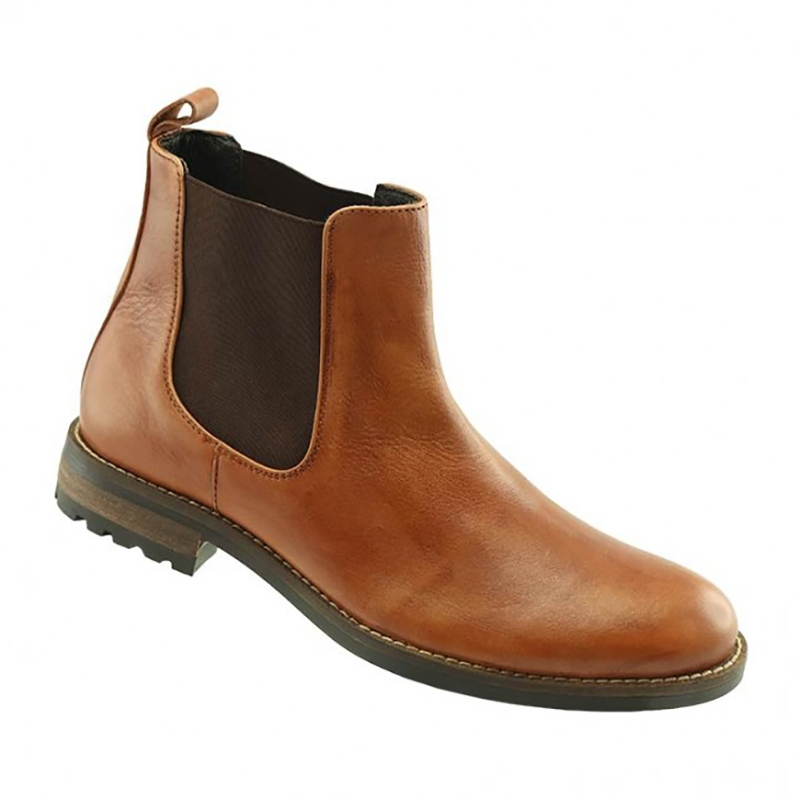 TB Phelps Santa Fe Panel Boots Tan Image