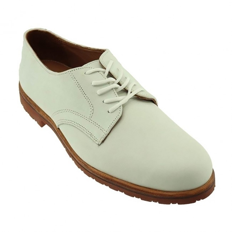 TB Phelps Spencer Suede Shoes White Nubuck Image