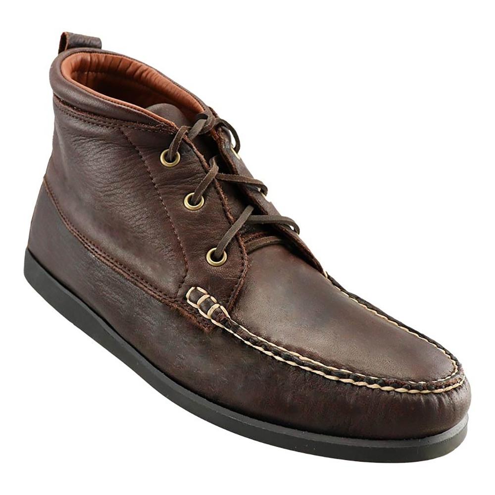 TB Phelps Weekender Elkskin Chukka Boots Mahogany Image