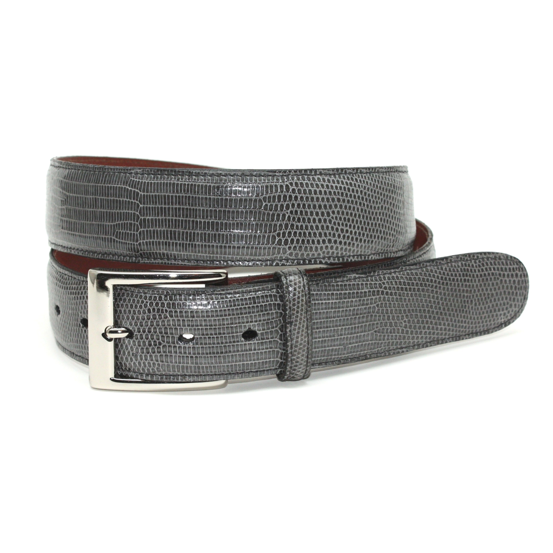 Torino Leather Lizard Belt