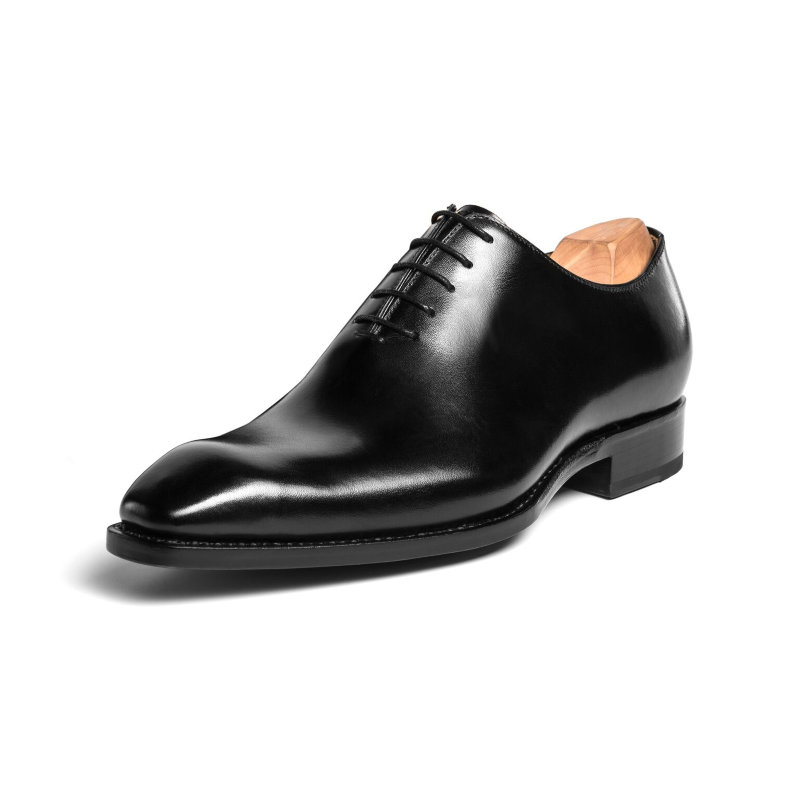 Ugo Vasare Jason Wholecut Oxfords Black Image