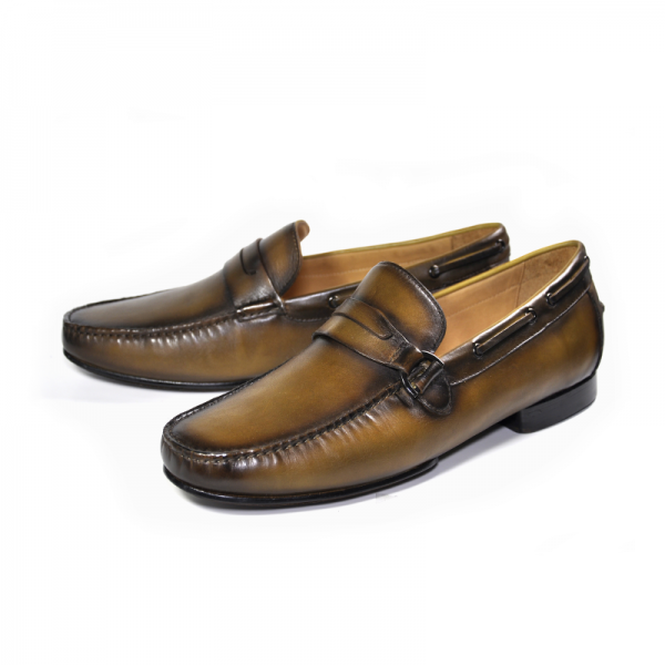 Ugo Vasare Victor Loafers Light Brown Image
