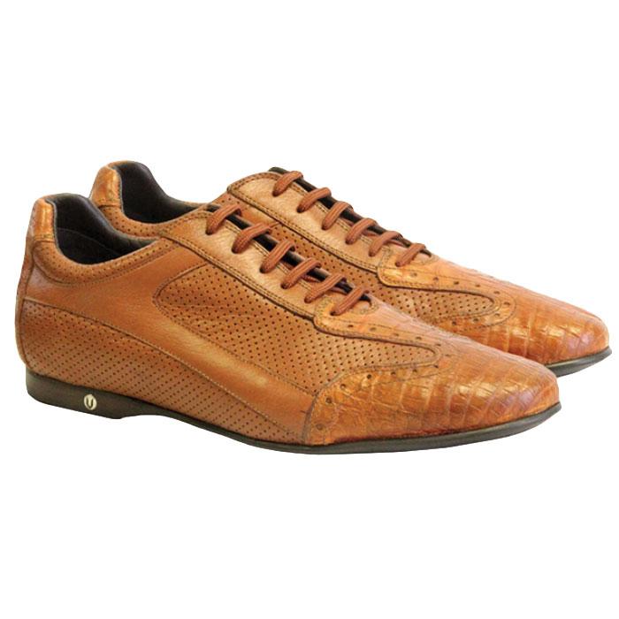 Vestigium Caiman Belly Sneakers Cognac Image