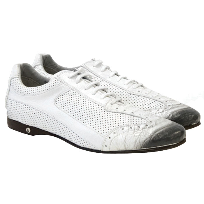 Vestigium Caiman Belly Sneakers Faded White Image