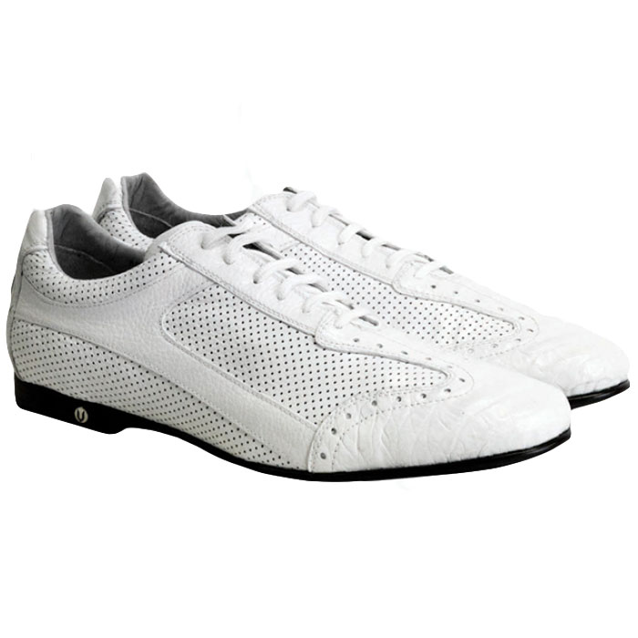 Vestigium Caiman Belly Sneakers White Image