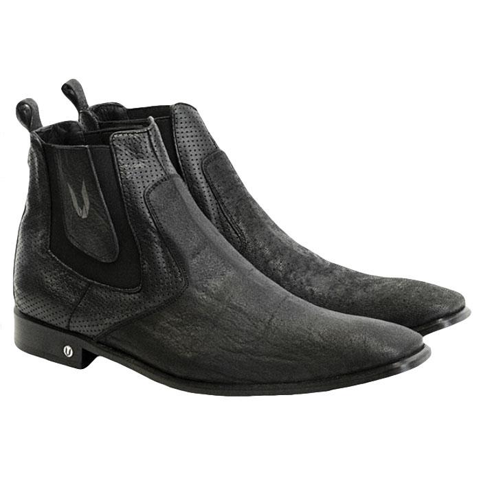 Vestigium Cat Shark Chelsea Boots Black Image