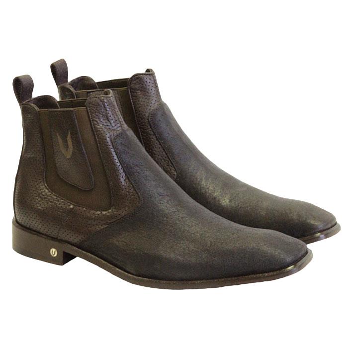 Vestigium Cat Shark Chelsea Boots Brown Image