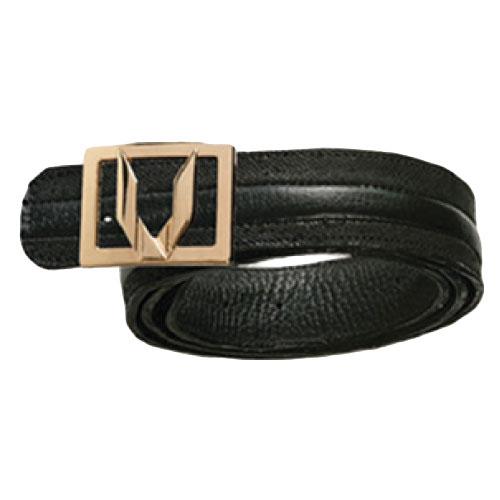 Vestigium Cat Shark Dressy Belt Black Image