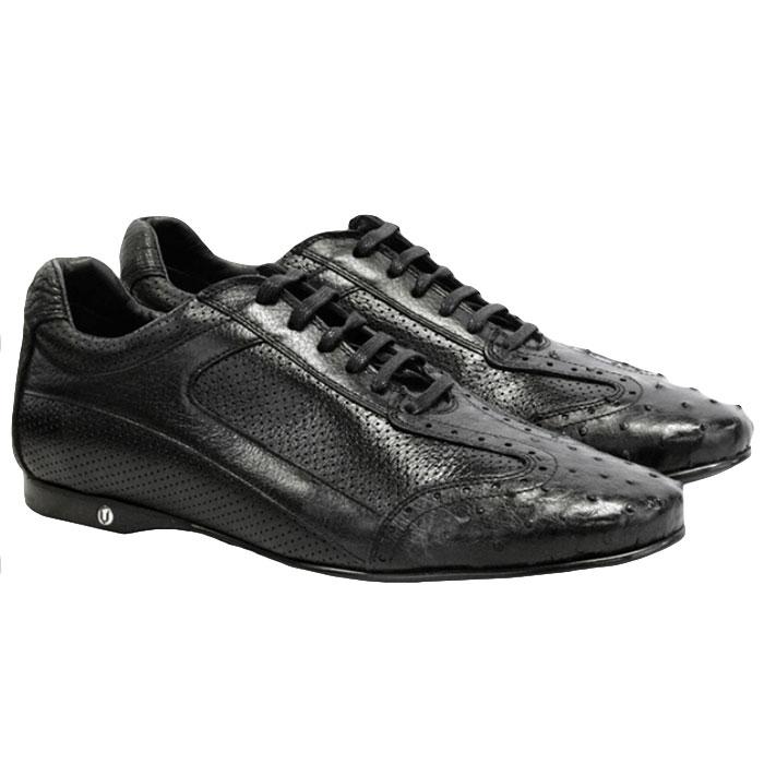 Vestigium Ostrich Sneakers Black Image