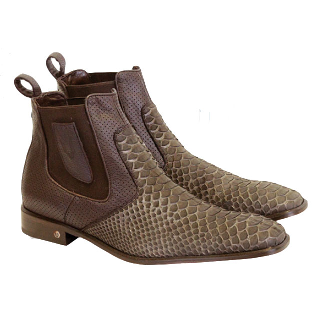 Vestigium Python Chelsea Boots Brown Image