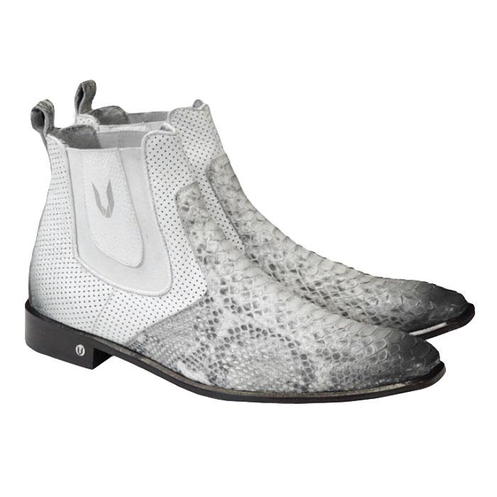 Vestigium Python Chelsea Boots Faded Natural Image