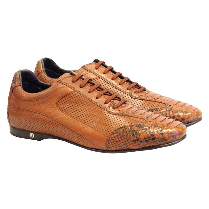 Vestigium Python Sneakers Cognac Image