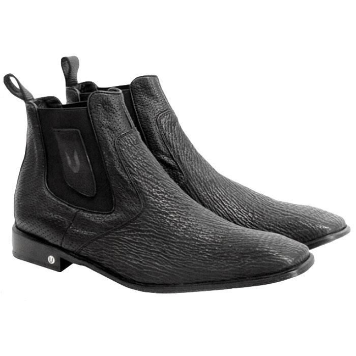 Vestigium Shark Chelsea Boots Black Image