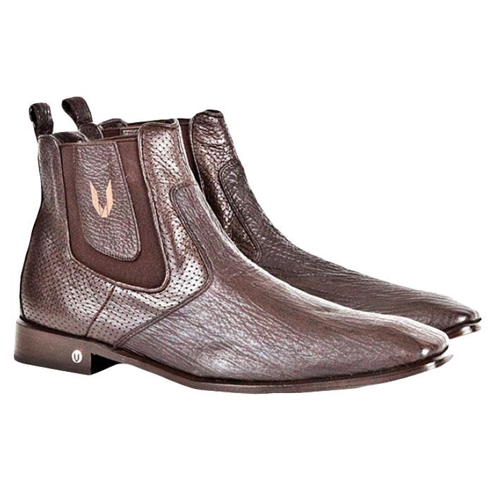 Vestigium Shark Chelsea Boots Brown Image
