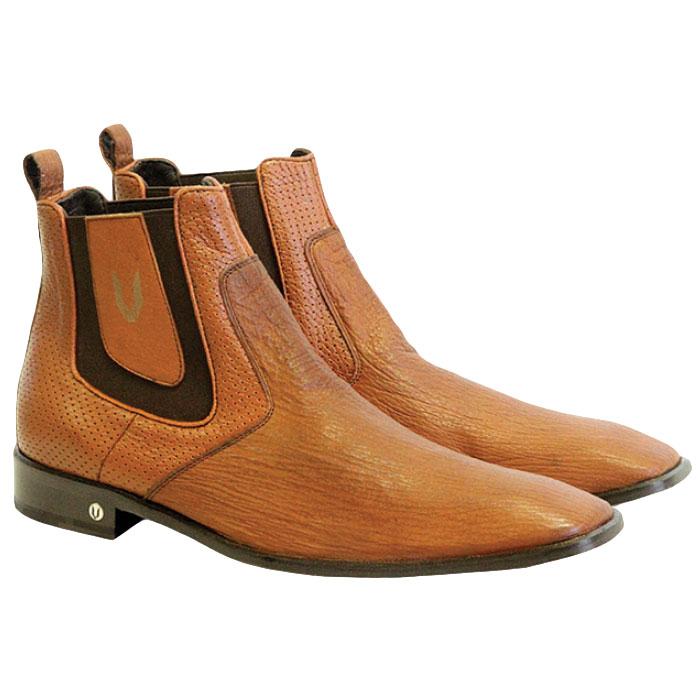 Vestigium Shark Chelsea Boots Cognac Image