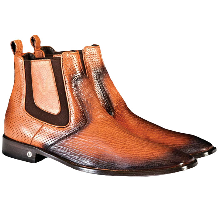 Vestigium Shark Chelsea Boots Faded Cognac Image