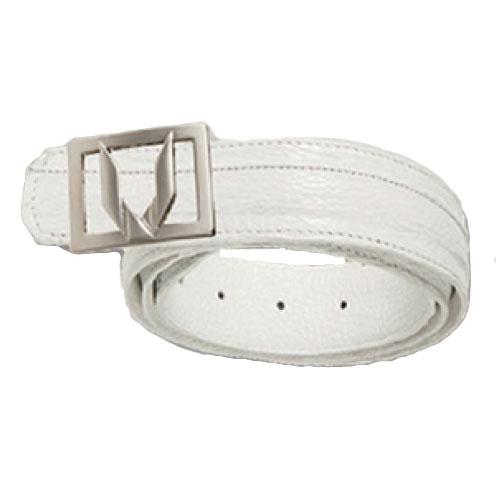 Vestigium Shark Dressy Belt White Image