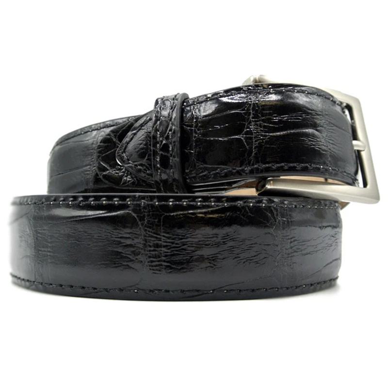 Zelli Alligator Belt Black Image