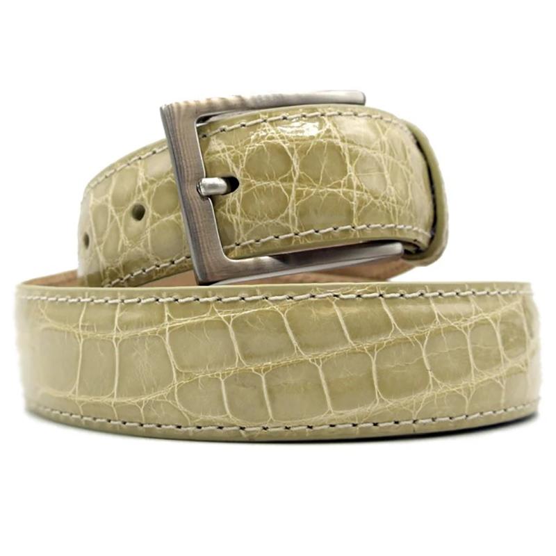 Zelli Alligator Belt Ivory Image