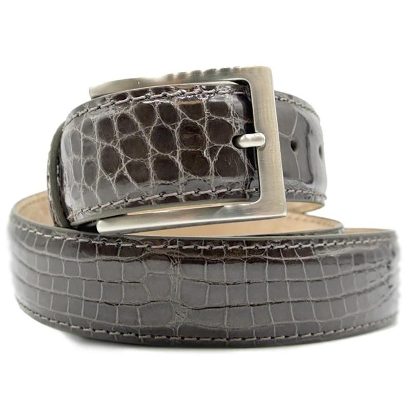 Zelli Alligator Belt Taupe Image