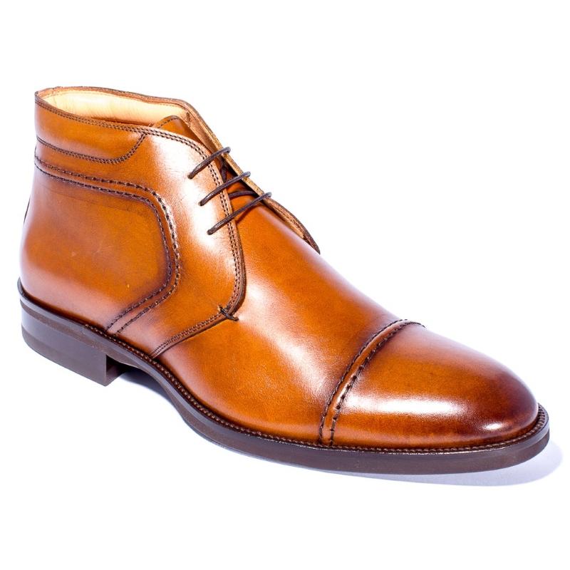 Zelli Dante Calfskin Boots Camel Image