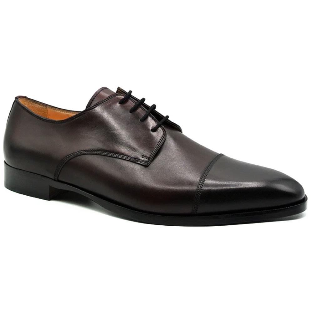Zelli Enzo Cap Toe Shoes Black Cherry Image