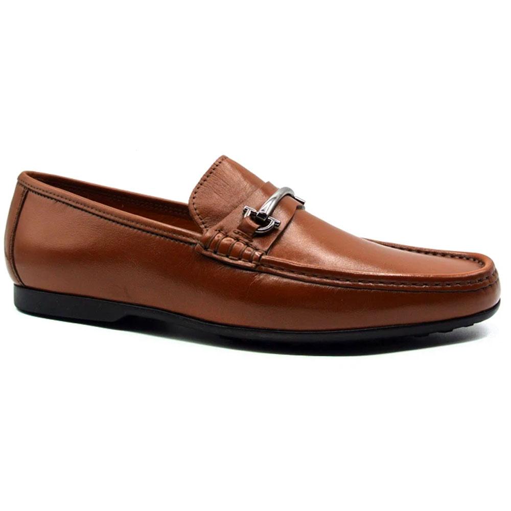 Zelli Leone Bit Driving Shoes Brown Image