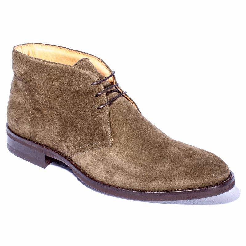 Zelli Marco Suede Chukka Boots Olive Image