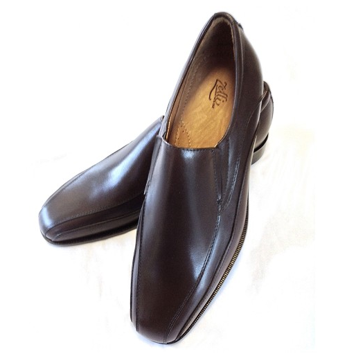 Zelli Mondo Bicycle Toe Loafers Brown Image